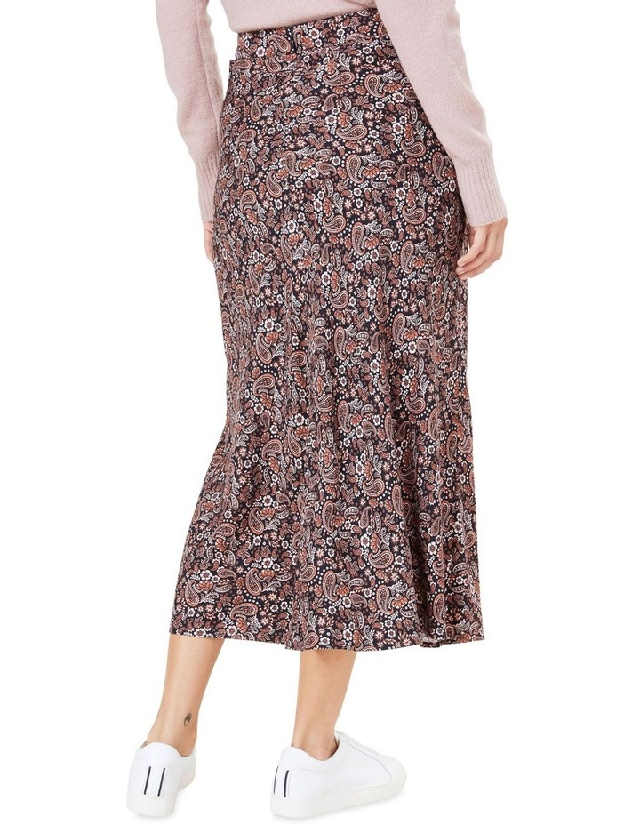 Paisley Midi Skirt image 3