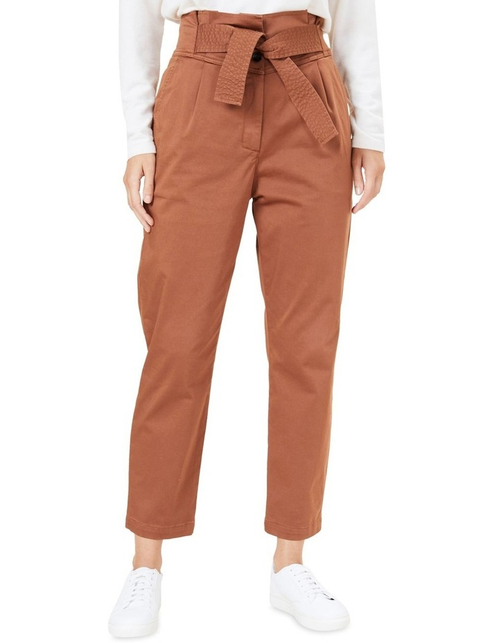 High Waist Belted Pant image 1