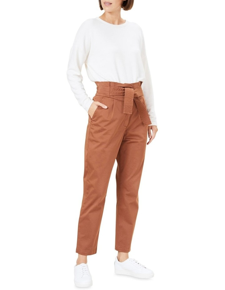 High Waist Belted Pant image 2