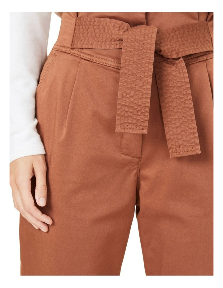 High Waist Belted Pant image 4