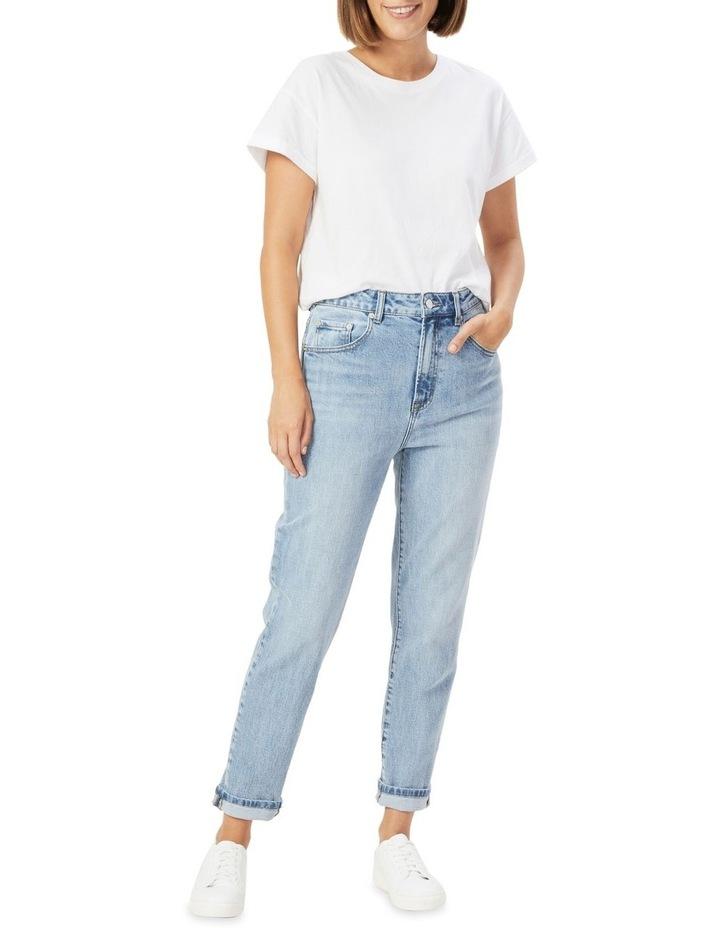 Boyfriend Mid Rise Slim Jean image 2