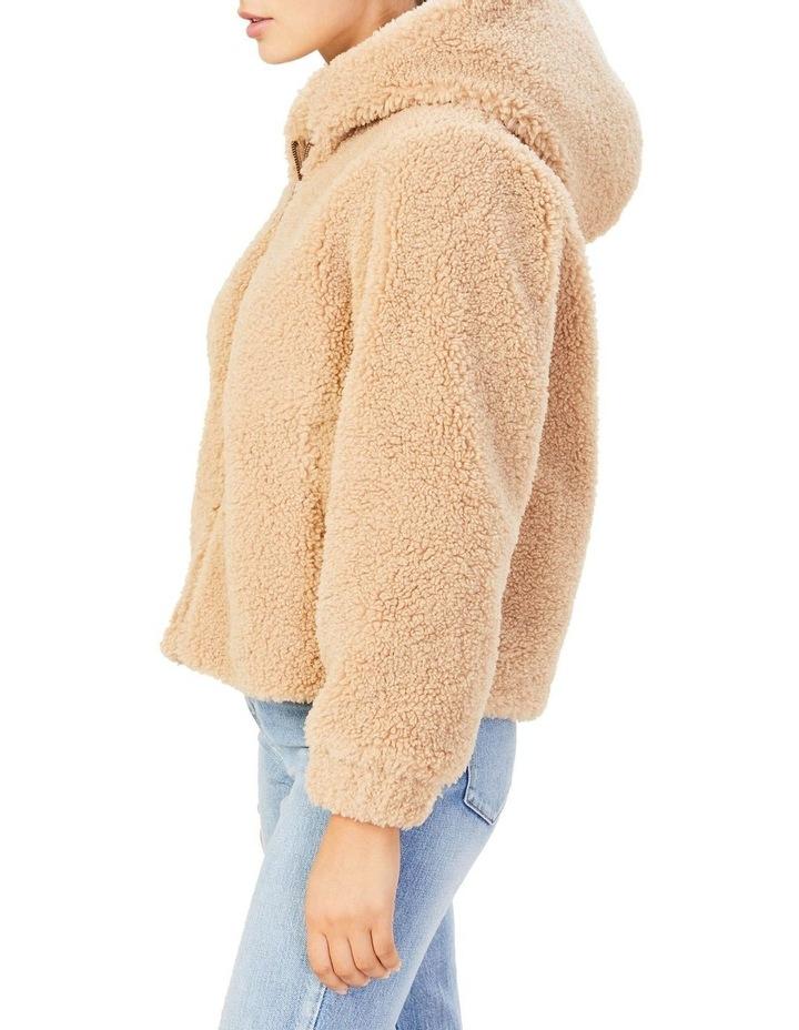 Teddy Hooded Jacket image 4