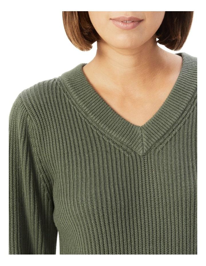 Cotton Balloon Sleeve Knit image 4