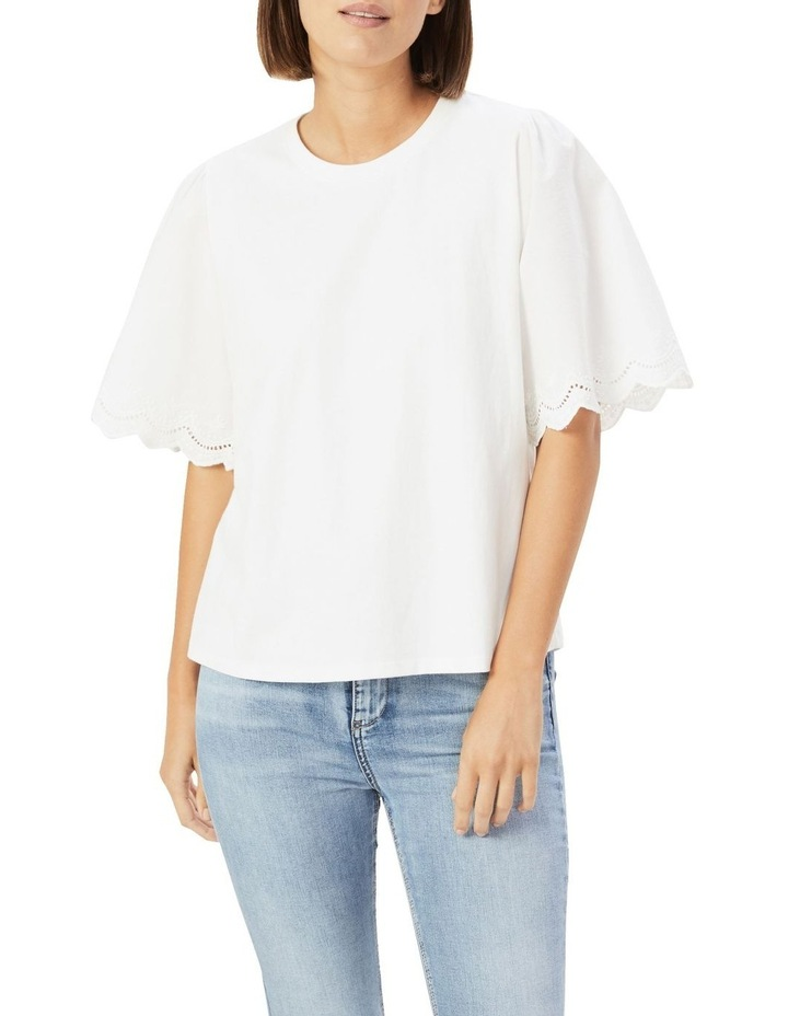 Embroidered Sleeve T Shirt image 1