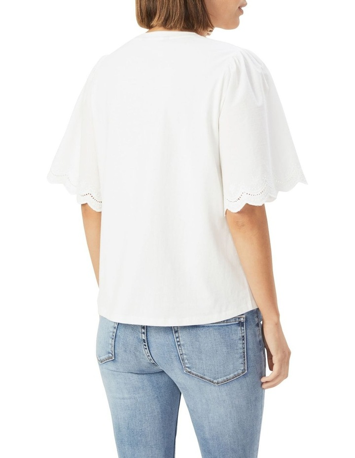 Embroidered Sleeve T Shirt image 3