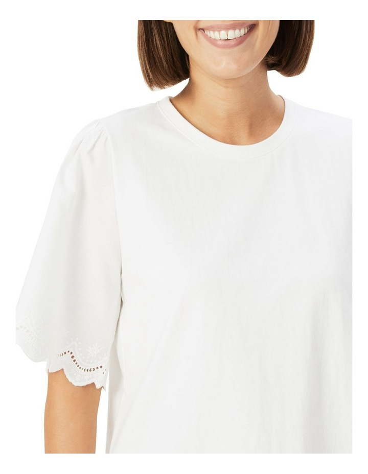 Embroidered Sleeve T Shirt image 4