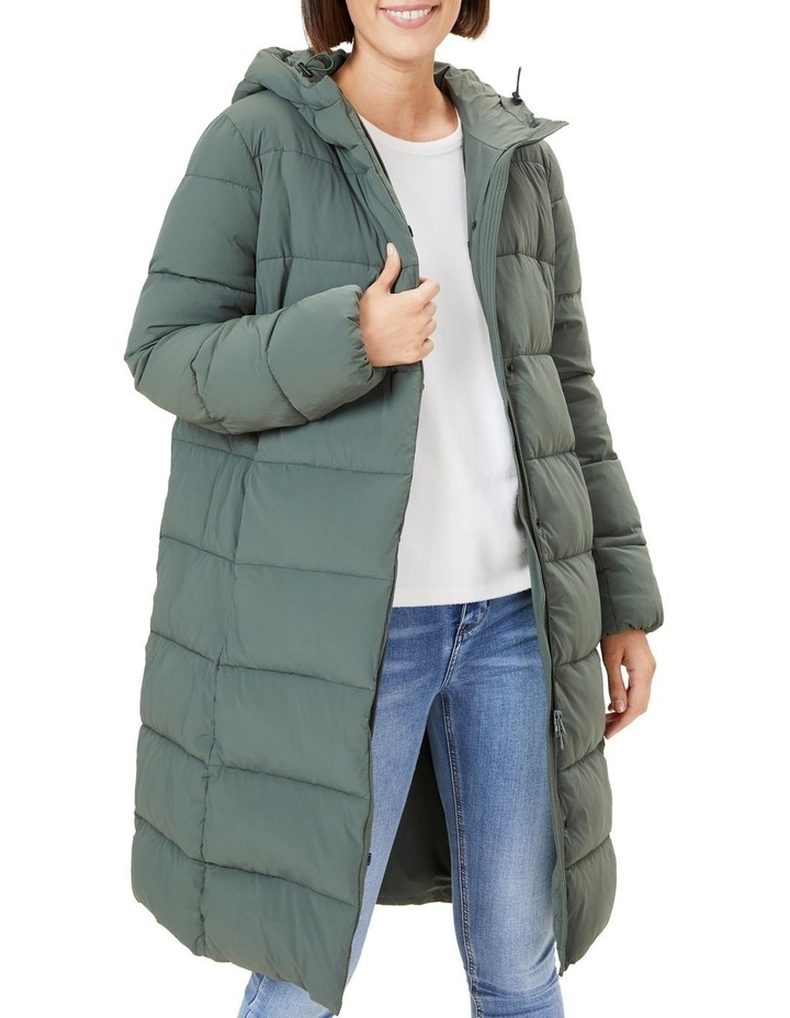 Longline Puffer Jacket image 1