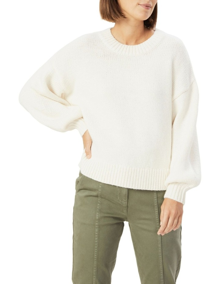 Slouchy Crew Neck Knit image 1