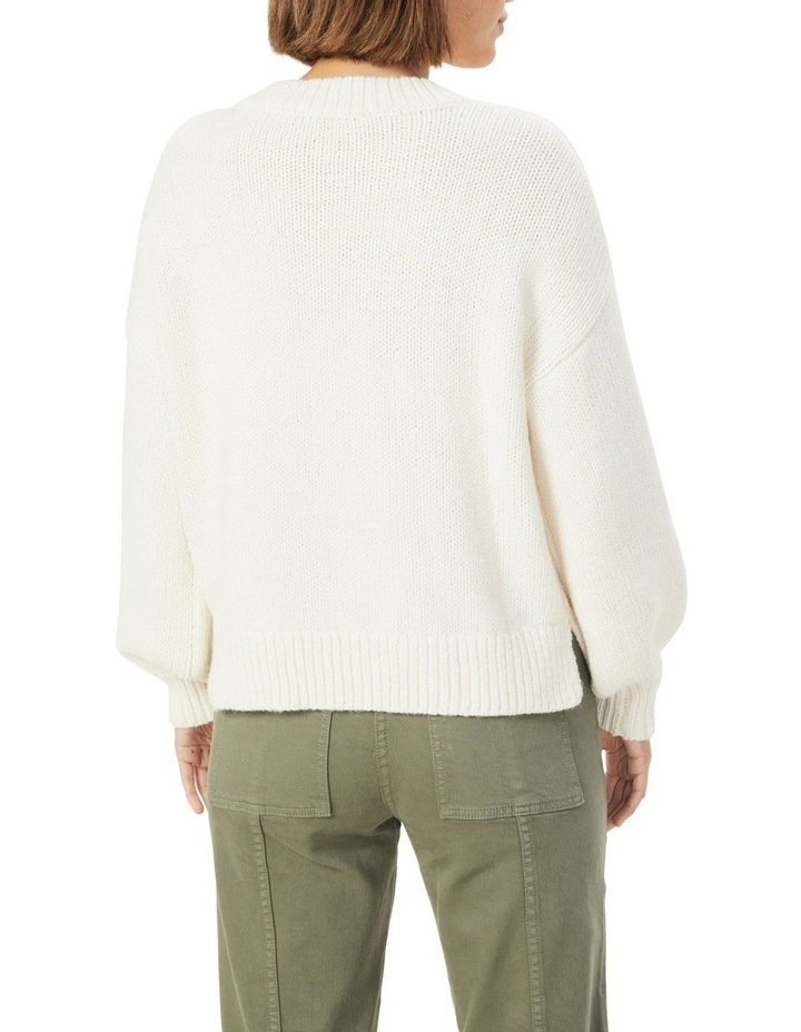 Slouchy Crew Neck Knit image 3