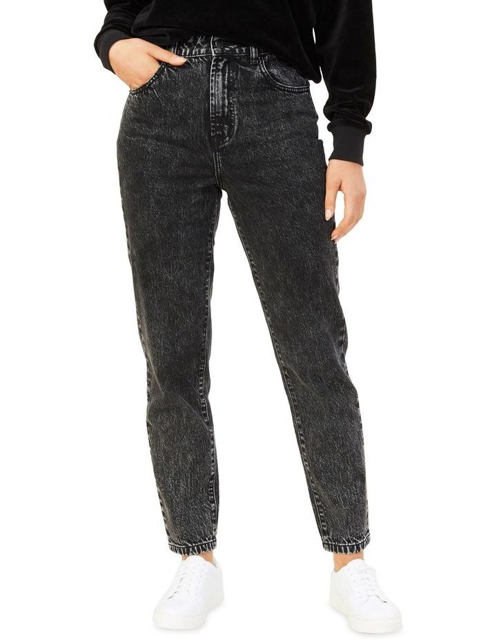 High Rise Straight Leg Jean image 1