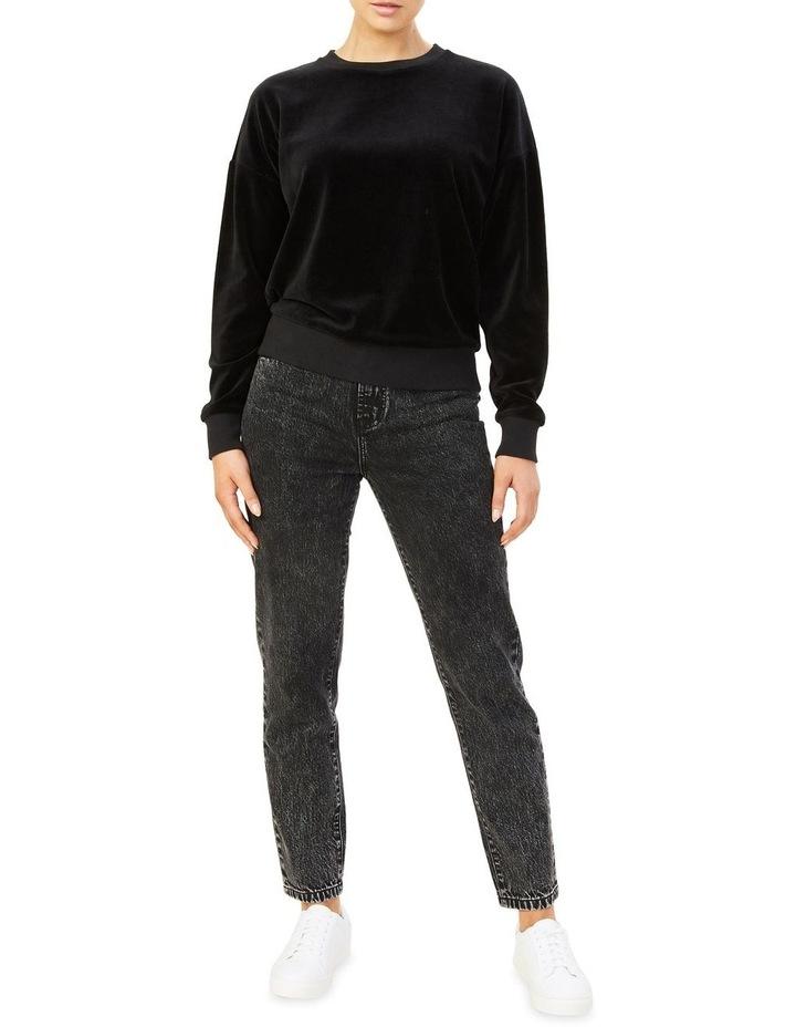 High Rise Straight Leg Jean image 2