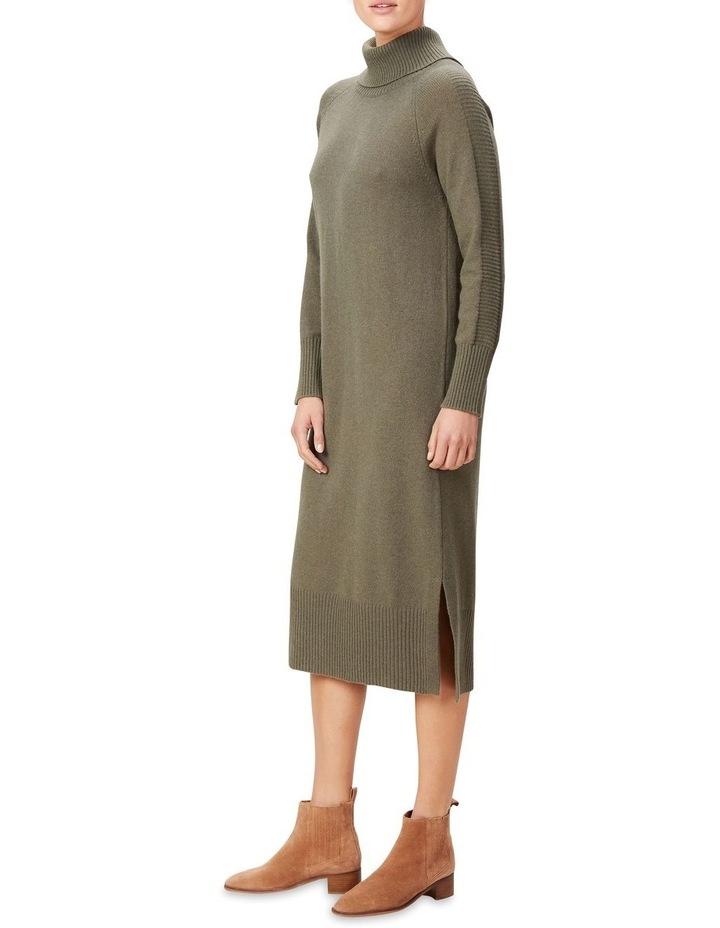 High Neck Knit Dress image 2