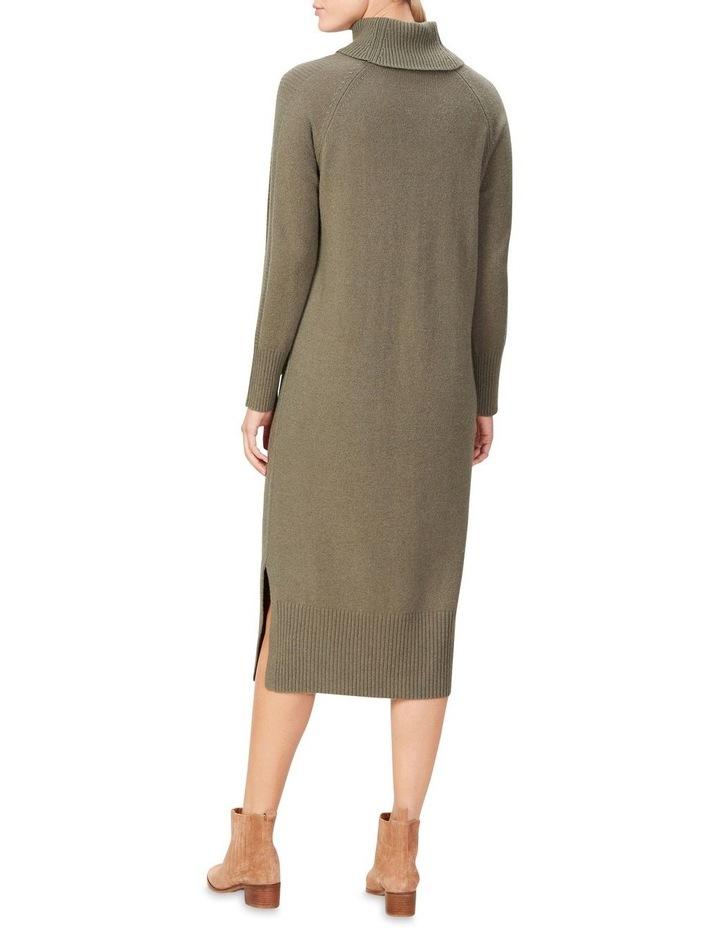 High Neck Knit Dress image 3
