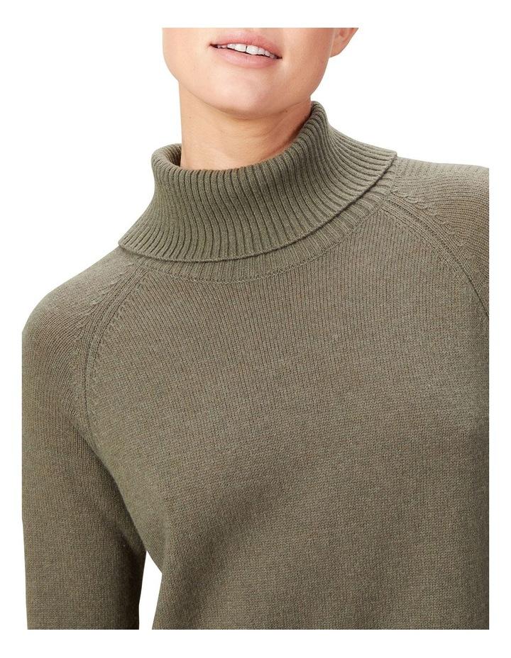 High Neck Knit Dress image 4