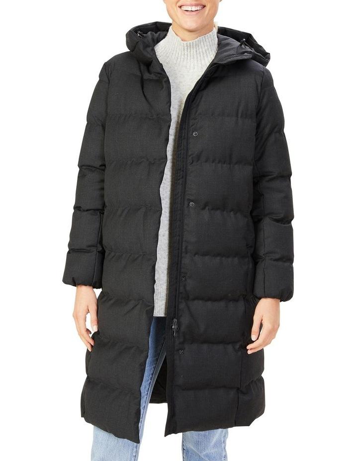 Wool Blend Puffer Jacket image 1