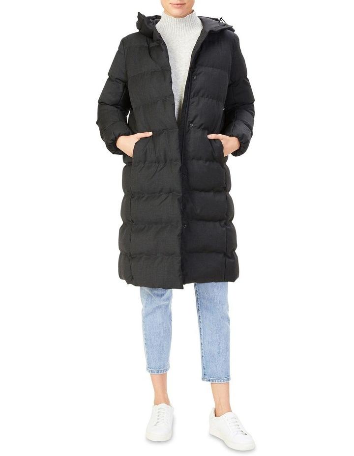 Wool Blend Puffer Jacket image 2