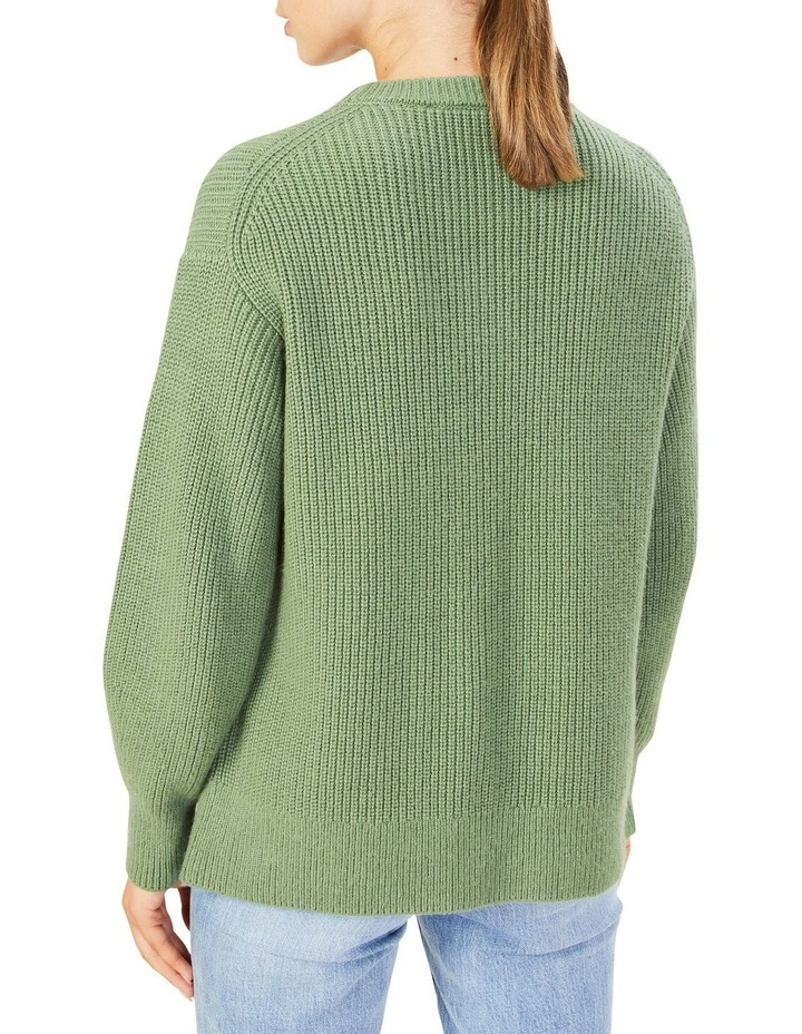 Relaxed Side Split Knit image 1