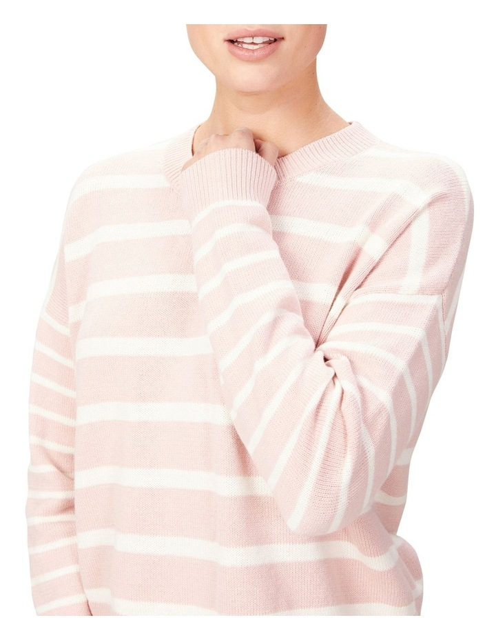 Stripe Pull Over Knit image 4