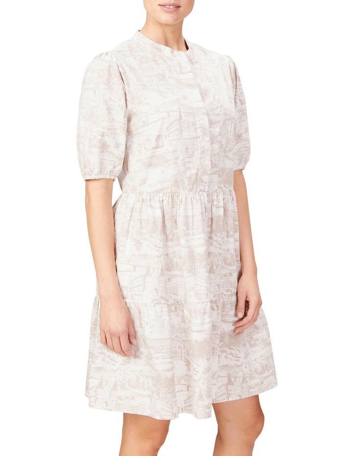 Scenic Print Dress image 1