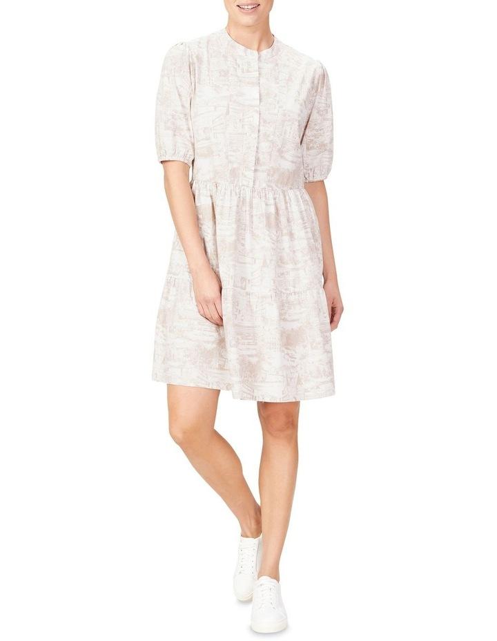 Scenic Print Dress image 2