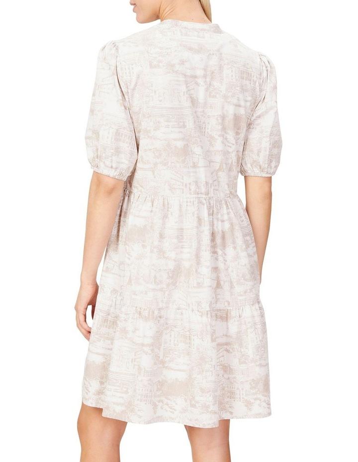 Scenic Print Dress image 3