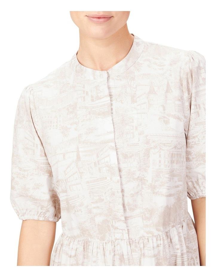 Scenic Print Dress image 4