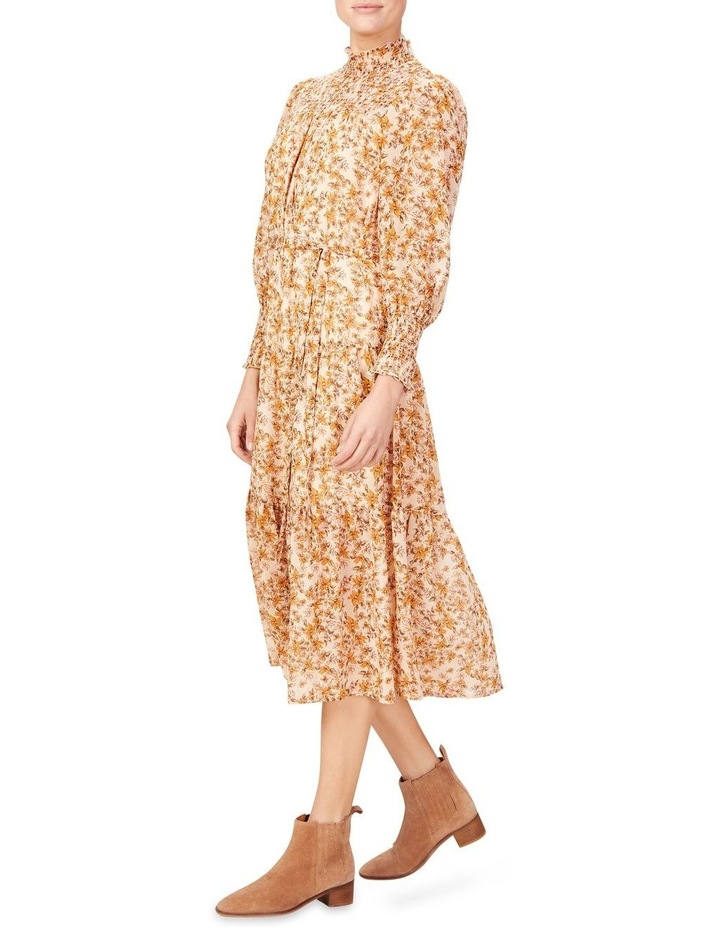 Shirred High Neck Dress image 2