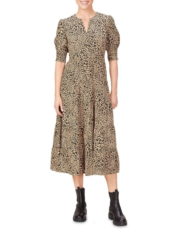 Tiered Midi Dress image 1