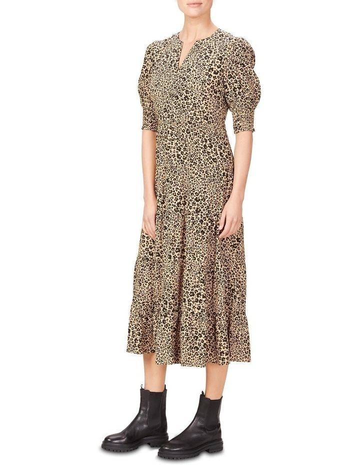 Tiered Midi Dress image 2