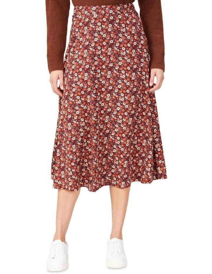 Seventies Floral Skirt image 1