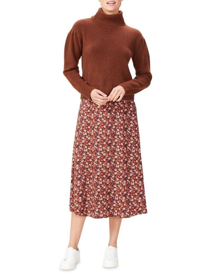 Seventies Floral Skirt image 2