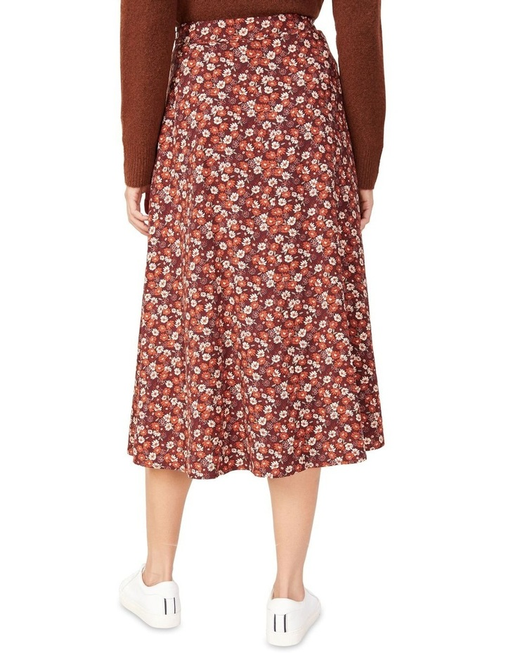 Seventies Floral Skirt image 3