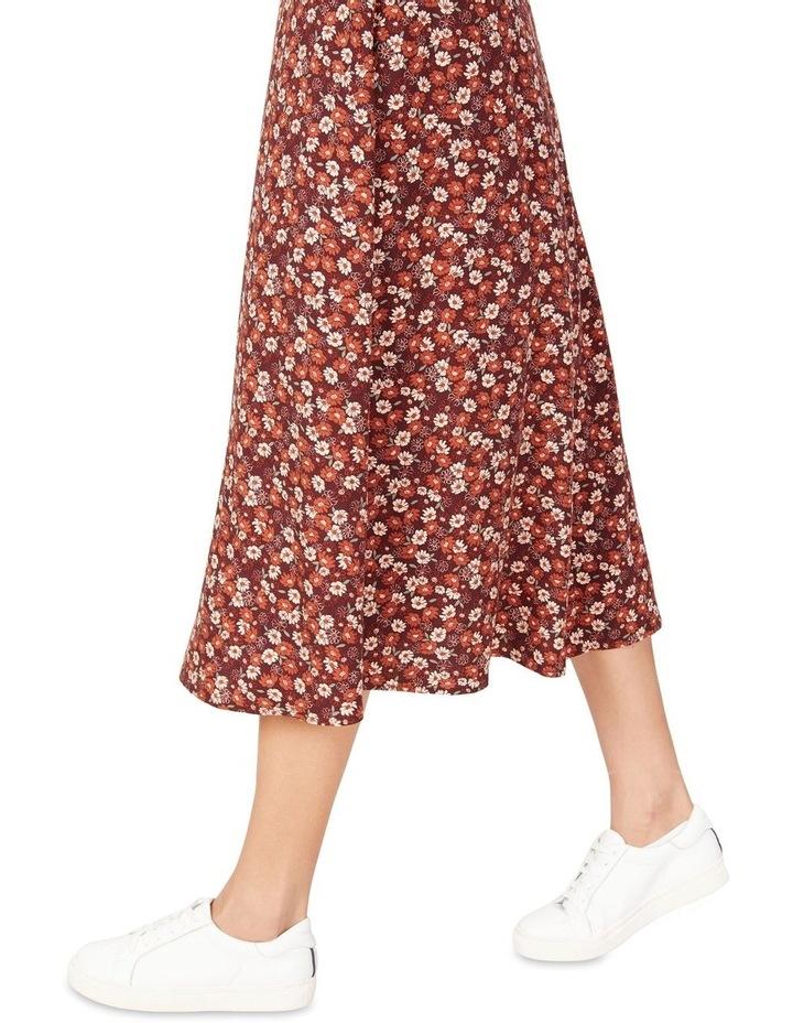 Seventies Floral Skirt image 4