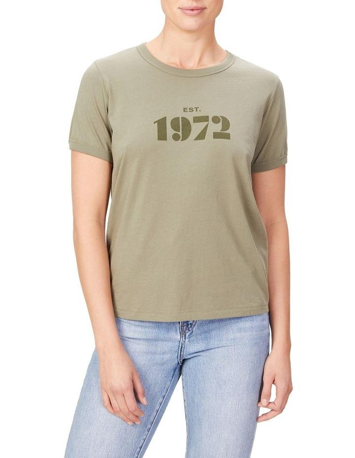 Vintage 1972 Organic T Shirt image 1
