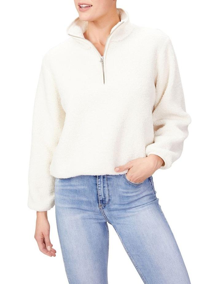Teddy Half Zip Sweater image 1