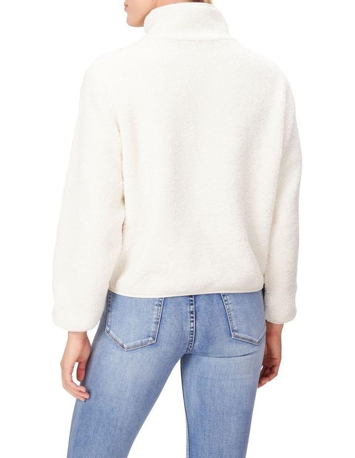 Teddy Half Zip Sweater image 3