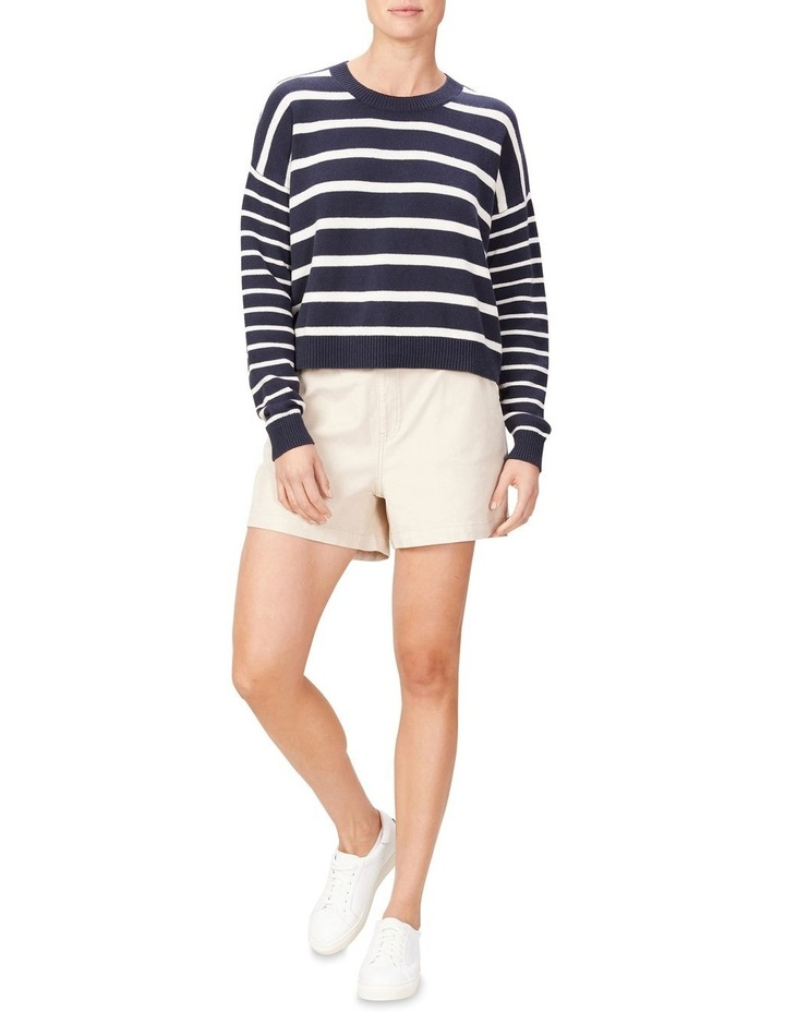 Stripe Pull Over Knit image 2