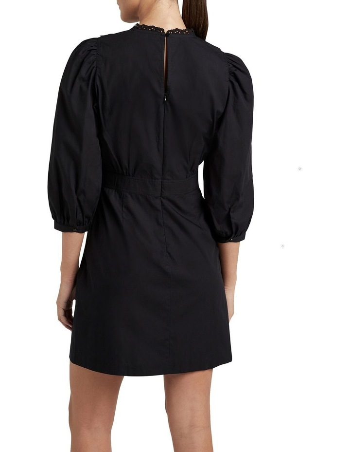 Broderie Puff Sleeve Dress image 2