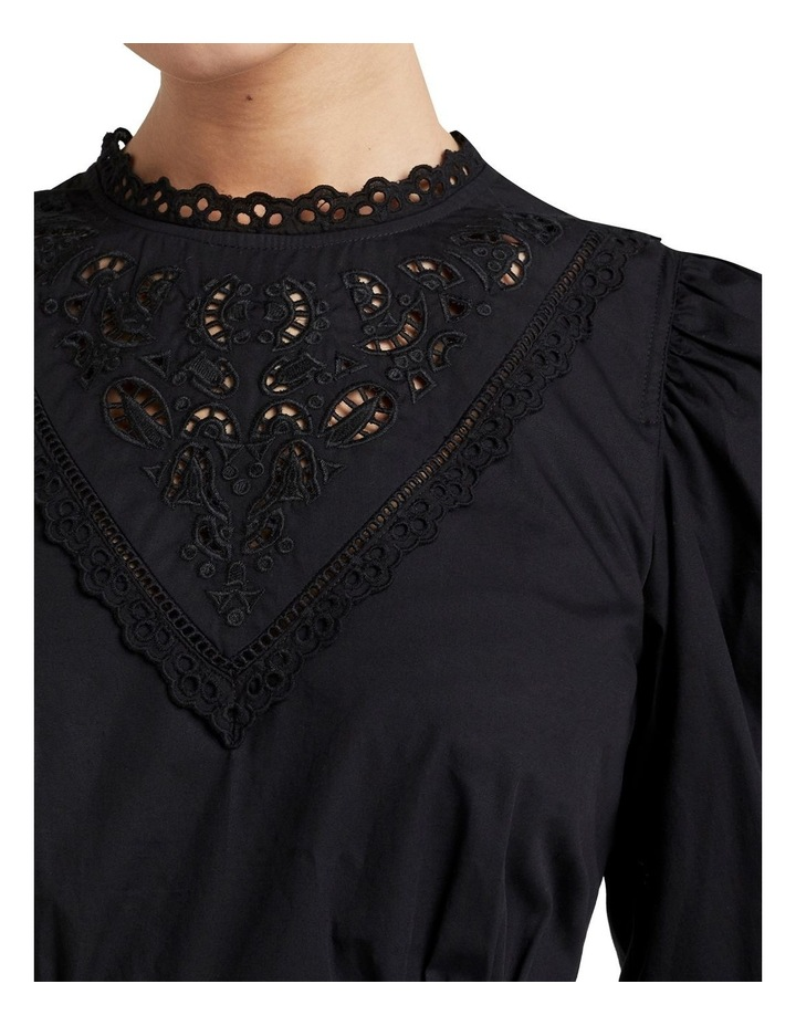 Broderie Puff Sleeve Dress image 3