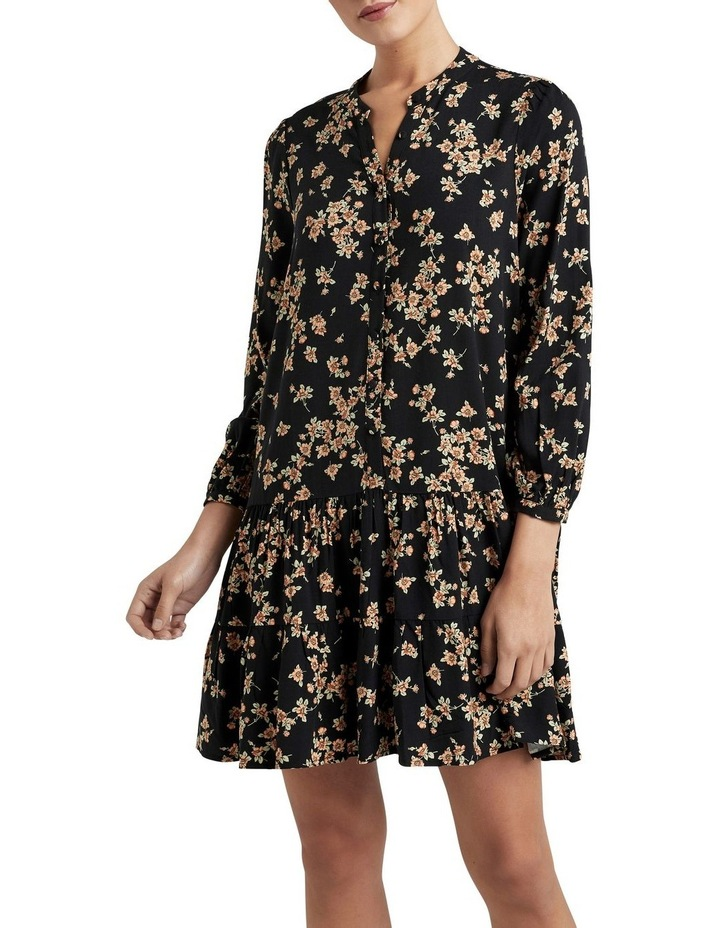 Tiered V Neck Dress image 1