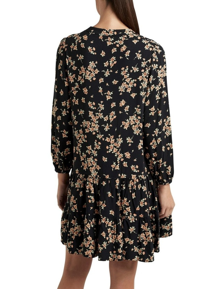 Tiered V Neck Dress image 2
