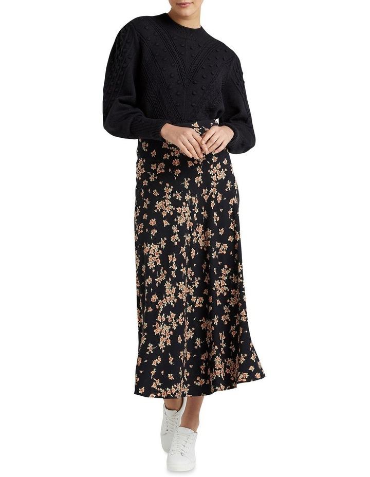 Vintage Floral Midi Skirt image 2
