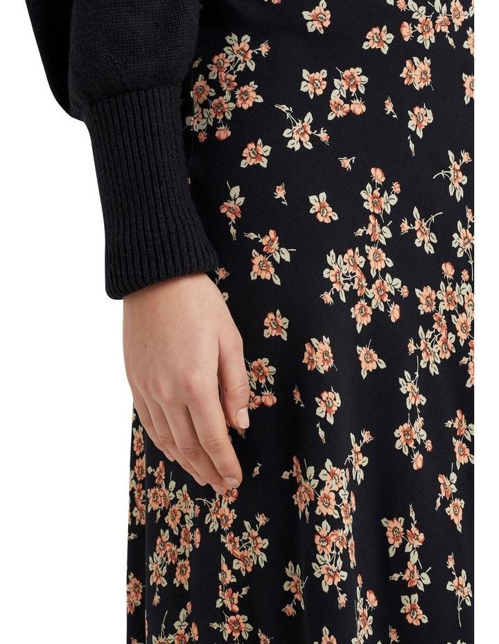 Vintage Floral Midi Skirt image 4