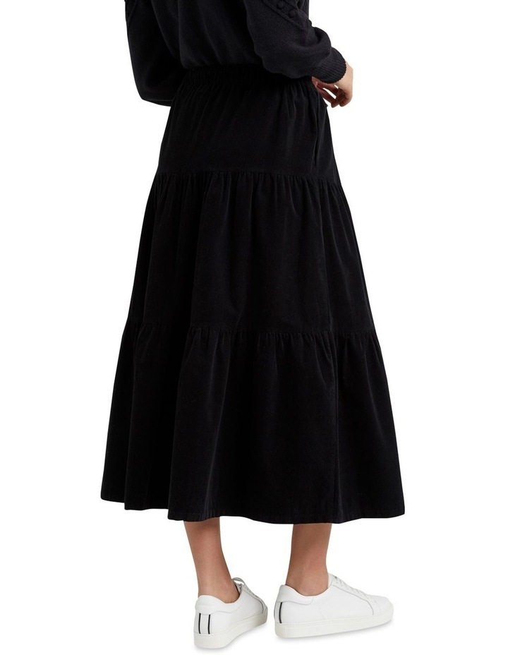 Tiered Cord Skirt image 3