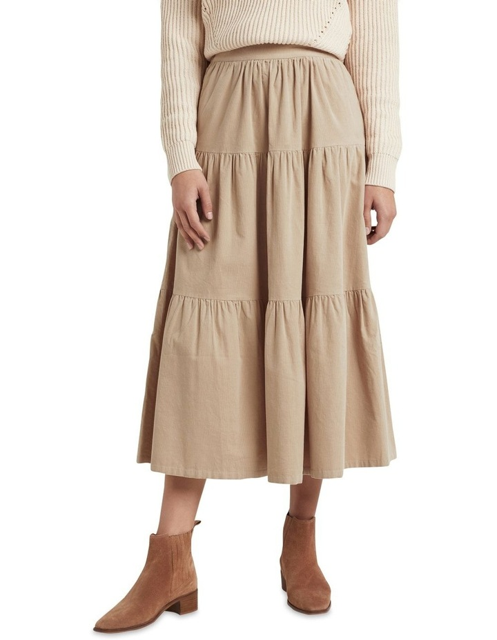 Tiered Cord Skirt image 1