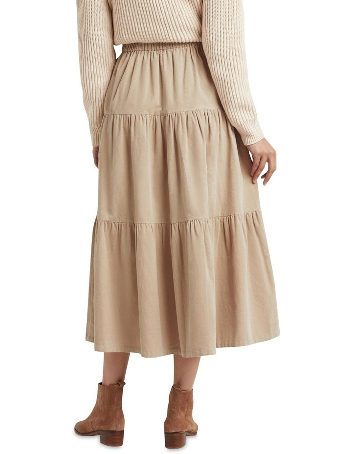 Tiered Cord Skirt image 2