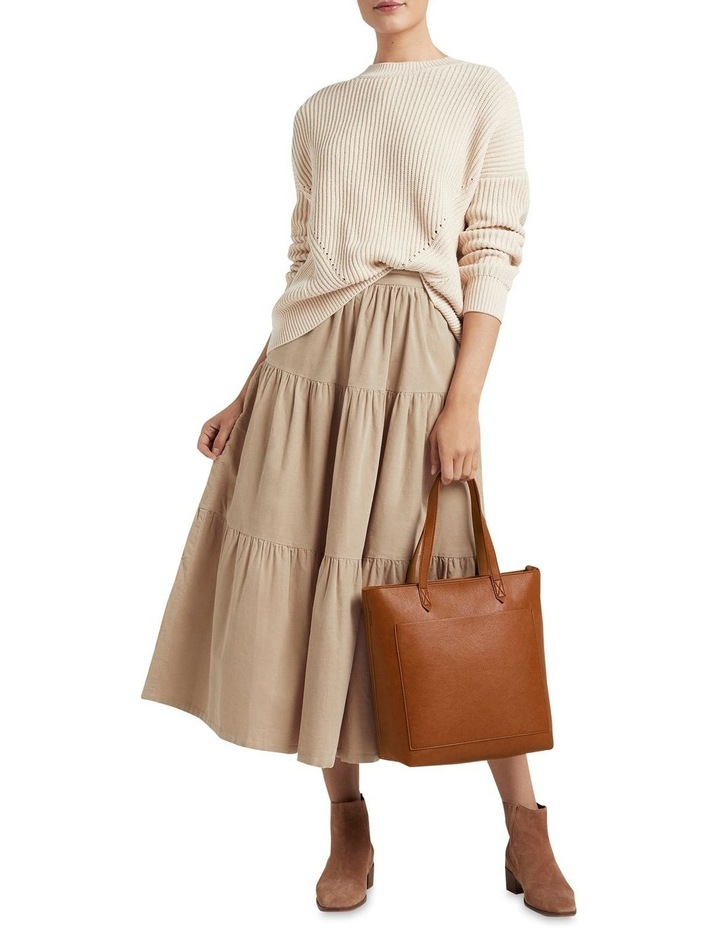 Tiered Cord Skirt image 4