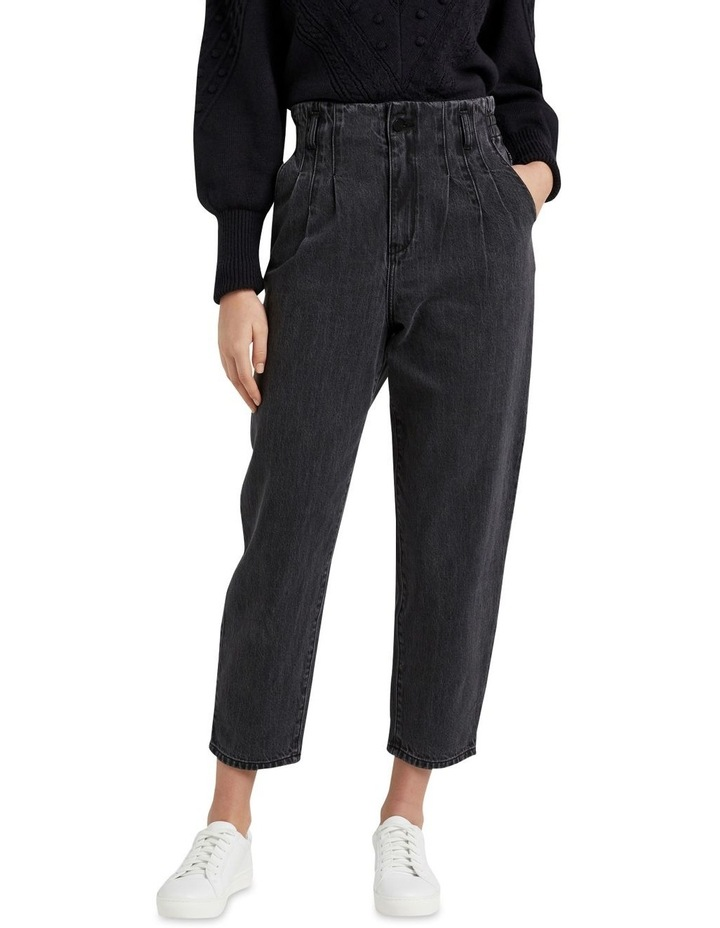 High Rise Tapered Jean image 1