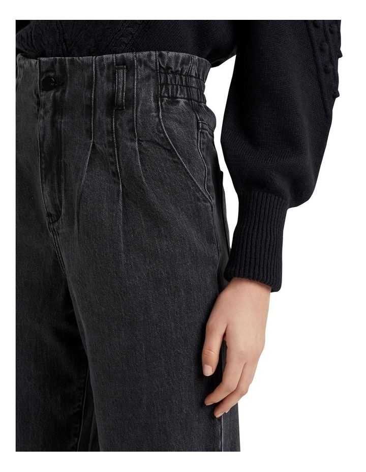 High Rise Tapered Jean image 4