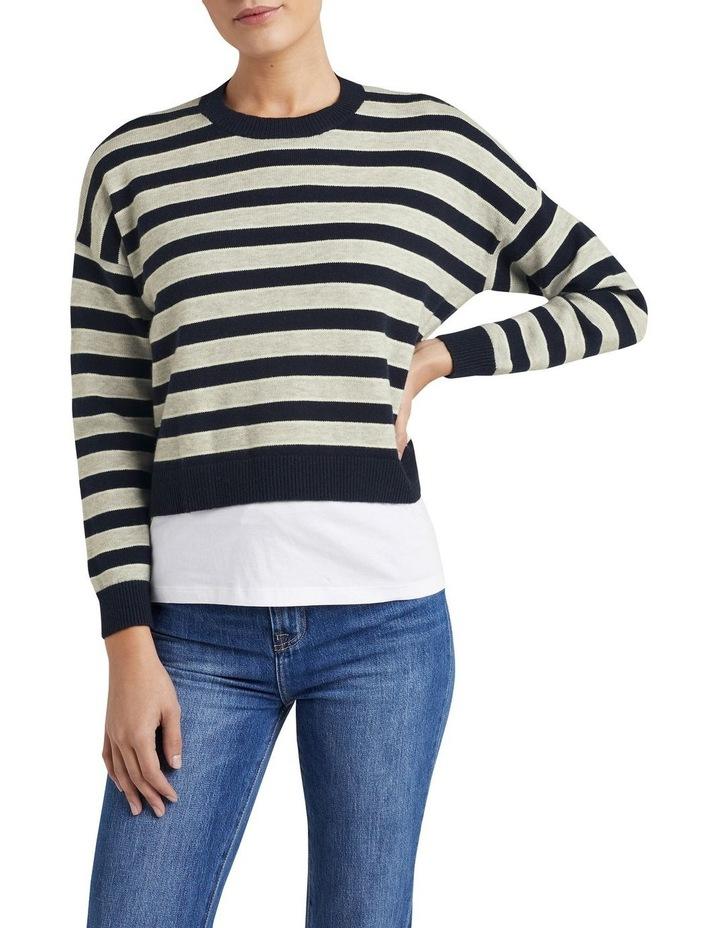 Stripe Boxy Knit image 1